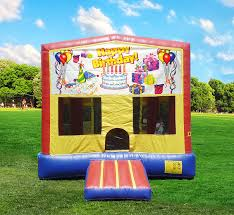 happy birthday bounce house rental