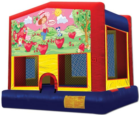 strawberry shortcake bounce house rental