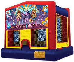 girl power bounce house rental