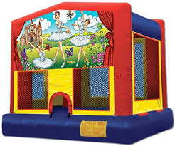 lil ballerina bounce house rental