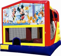 mickey mouse combo bounce house rental