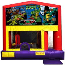 ninja turtle combo bounce house rental