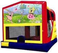 sponge bob combo bounce house rental