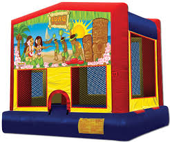 luau bounce house rental