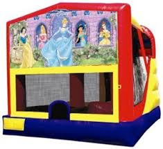 princess combo bounce house rental