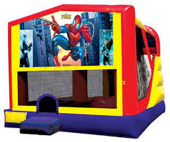 spiderman combo bounce house rental