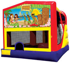 luau combo bounce house rental