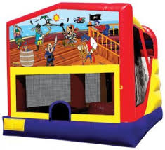pirate combo bounce house rental